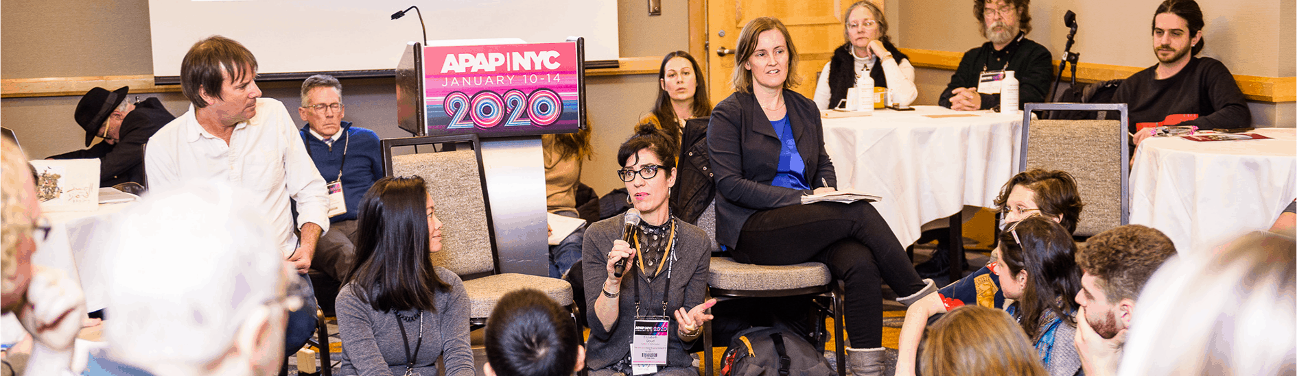 APAPNYC 2020 Agents and Managers Affinity Group by Adam Kissick/APAP
