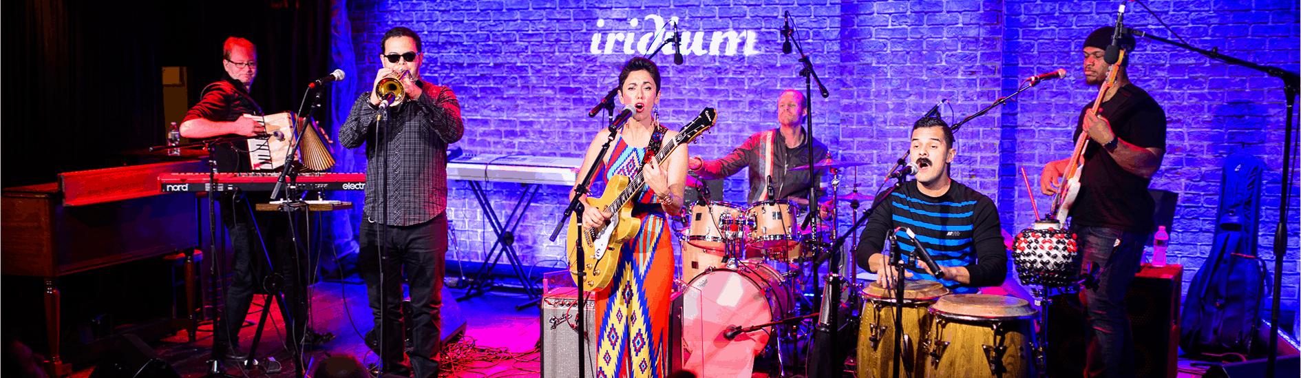 APAPNYC 2018 Showcase Gina Chavez at Iridium by Adam Kissick/APAP