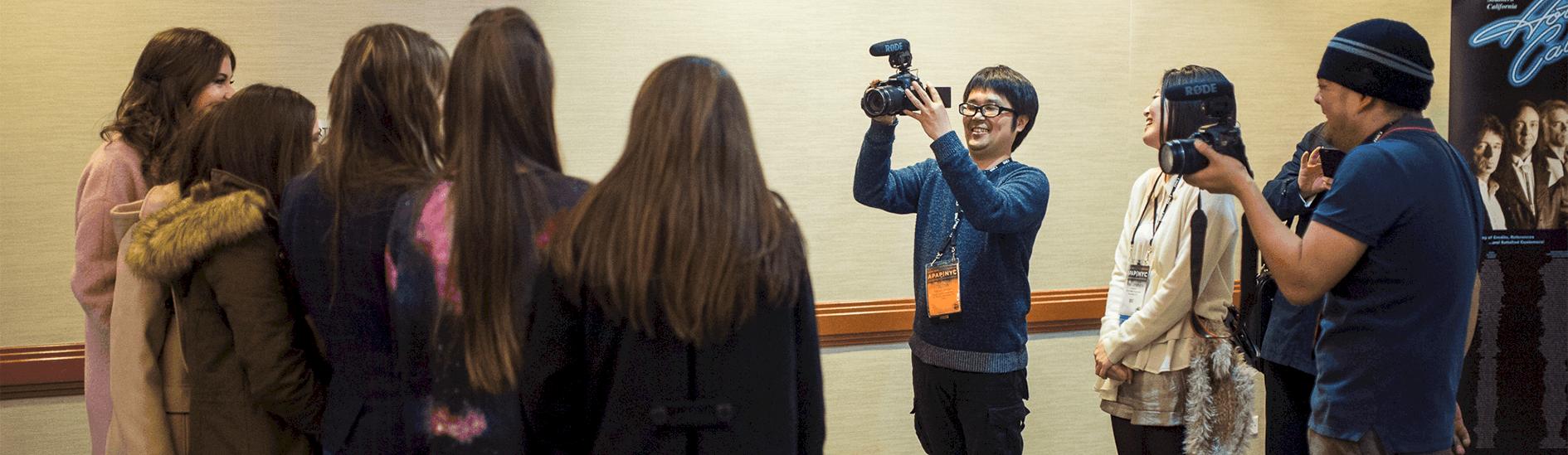 Camera Crew at APAP|NYC by Adam Kissick/APAP